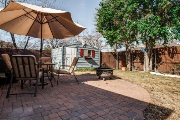 10211 Longmeadow Backyard