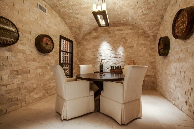 10731 Bridge Hollow wine cellar