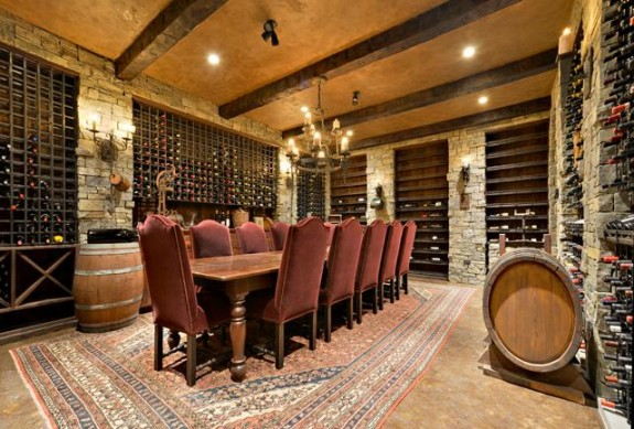12780 Basement Wine Cellar