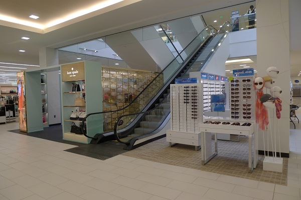 Belk escalator