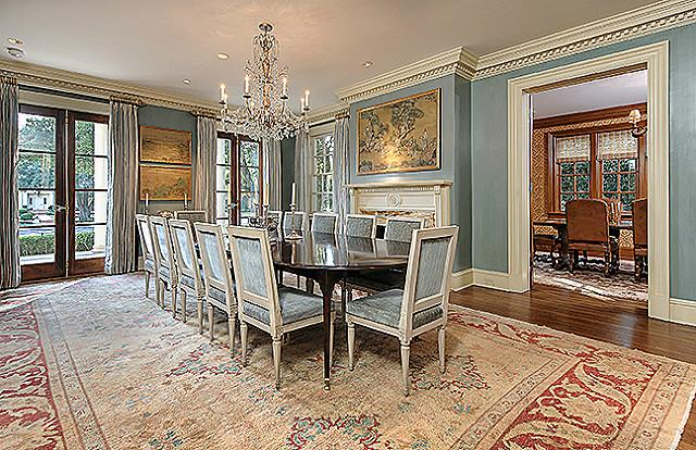 3800 Beverly dining room