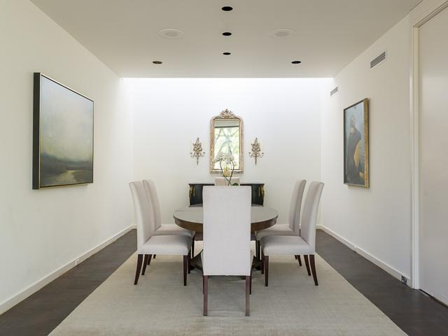 10300 Strait Lane dining room