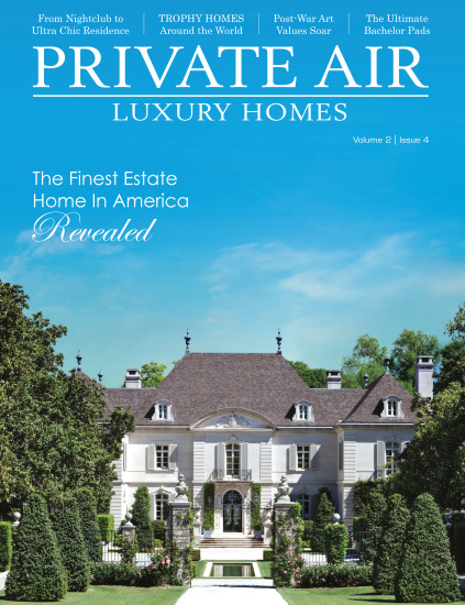 Private Air Luxury Homes cover