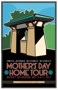 SAHD Mother's Day Home Tour logo