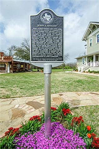 2113 Mangum Historic sign