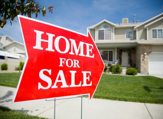 New home sales are up 18 percent for the month, according to Department of Commerce stats.
