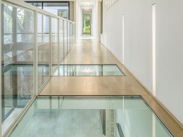 3601 Euclid glass floor