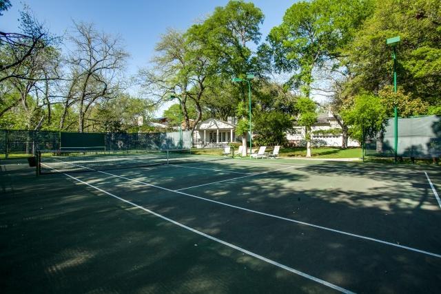 4930 Radbrook tennis court