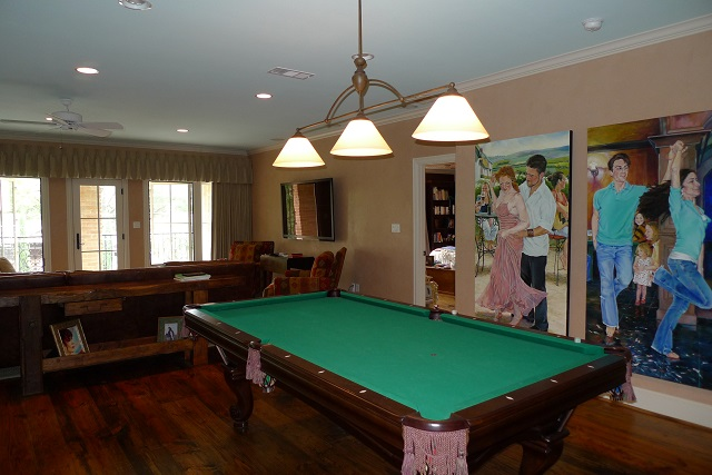 Brookcove game room