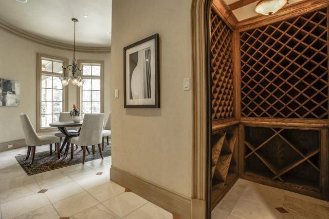5019 Shadywood wine cellar