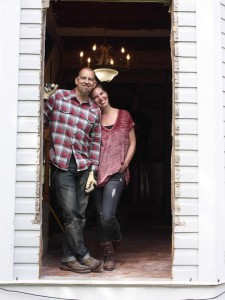 Brandon, a pastor, and Jen Hatmaker renovated their Buda farmhouse in 8 months.