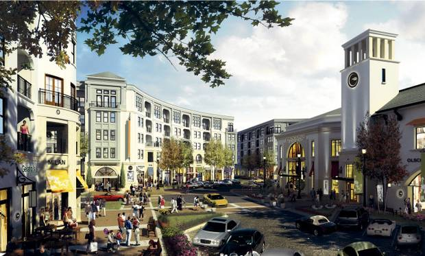 Preston Hollow Village original rendering