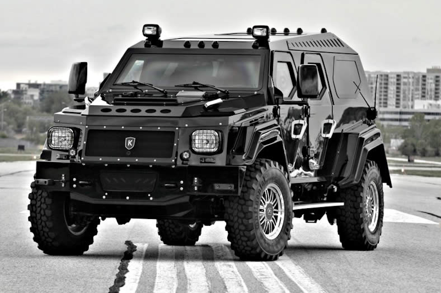 Maybe it's time for more bulletproof glass and armor plating in Highland Park? (Photo: Conquest Vehicles)