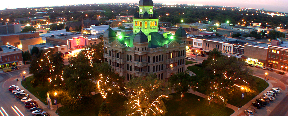 Denton made Kiplinger's list of the top 10 towns you'll want to live in.