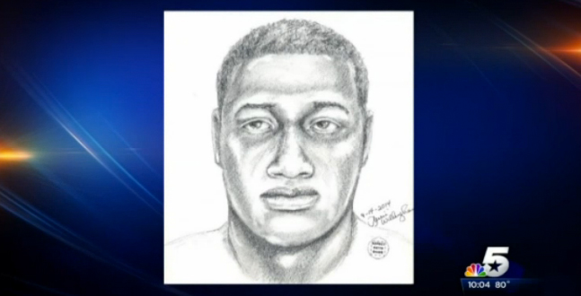 University Park Police released this sketch, which is a likeness of the rapist accused of attacking an SMU student.