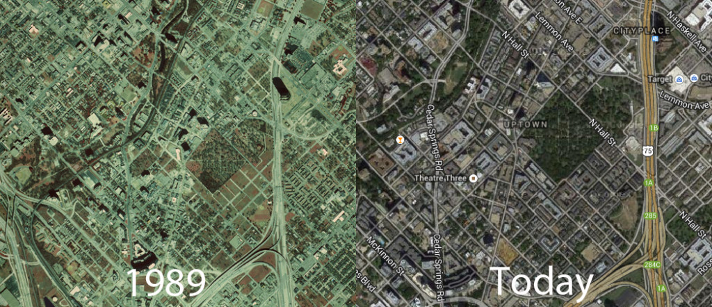 Uptown Then and Now