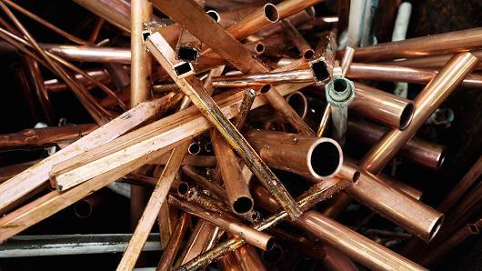 copper pipe theft