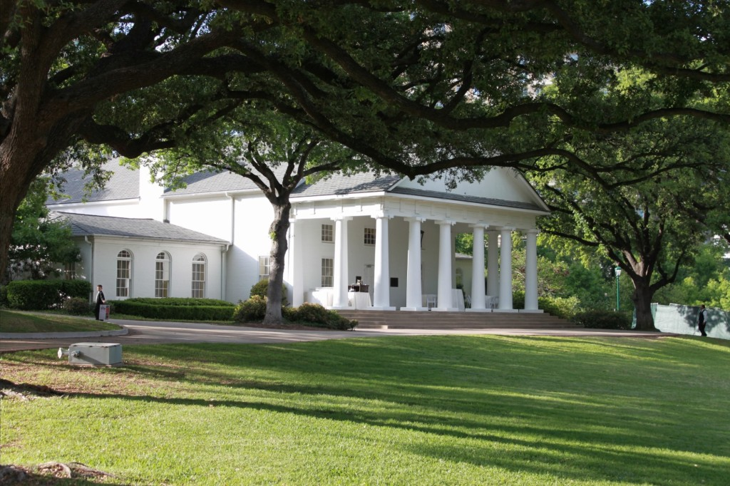 Perhaps best known as the most sought-after location for Dallas' high-society weddings, Arlington Hall at Lee Park will celebrate its 75th anniversary this weekend.