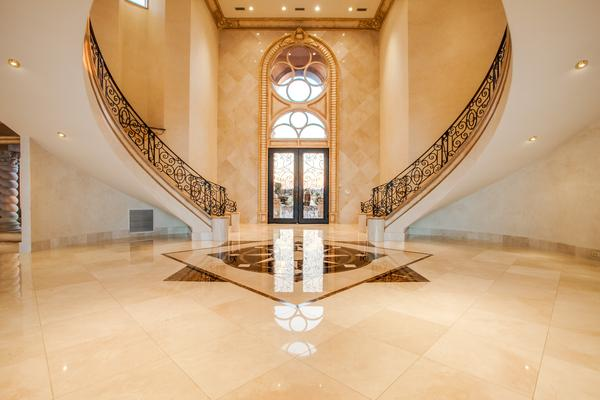 Deion Sanders foyer