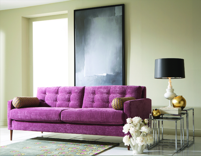 High end staging? Try the Genevieve Sofa