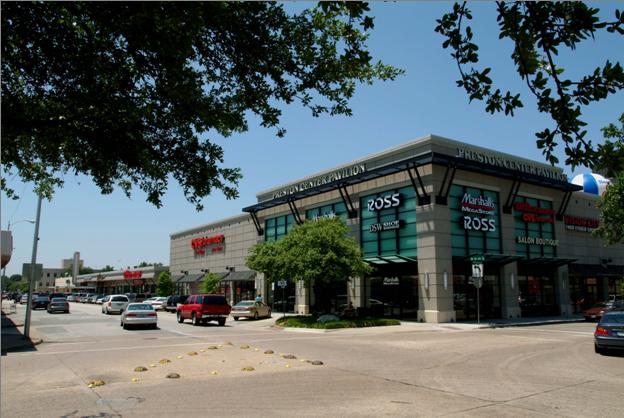 Preston Center  Pavillion - Dallas TX