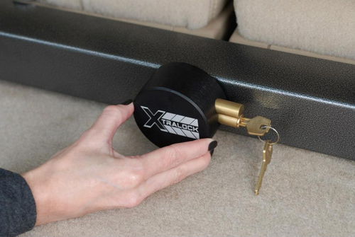Have an SUV with third-row seats? Park Cities police officers suggest either parking in a locked garage or locking down those seats with a device like this Xtra Lock bar.