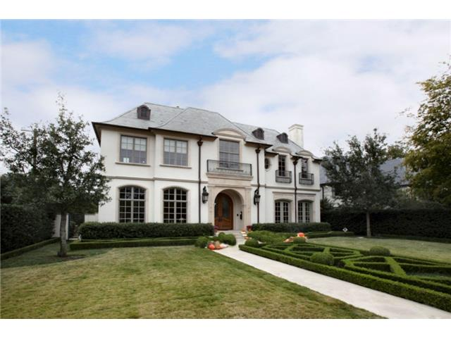 Troy Aikman's home on Normandy in Highland Park went up in price within the first week on MLS, showing strong demand in the luxury market. (Photos: Shoot2Sell