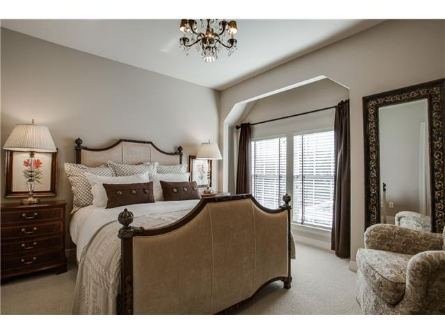 Guest Bedroom with Large Closet and Bath.