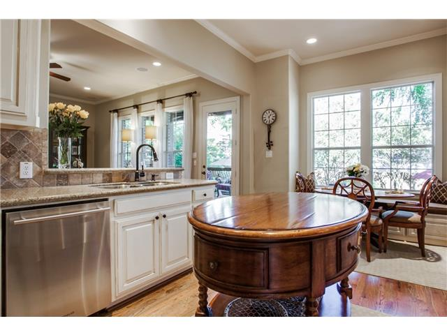 Gourmet Kitchen opens to Great Room for easy entertaining.