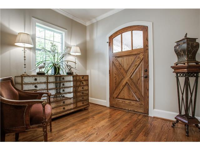 Gracious Entry with Beautiful Front door.