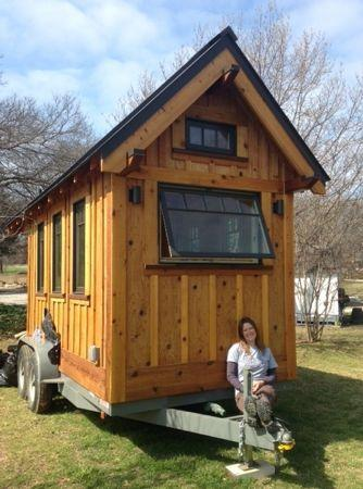 BA Norrgard is taking her tiny house on tour, but the Dallas native is hoping living small will catch on in her hometown.