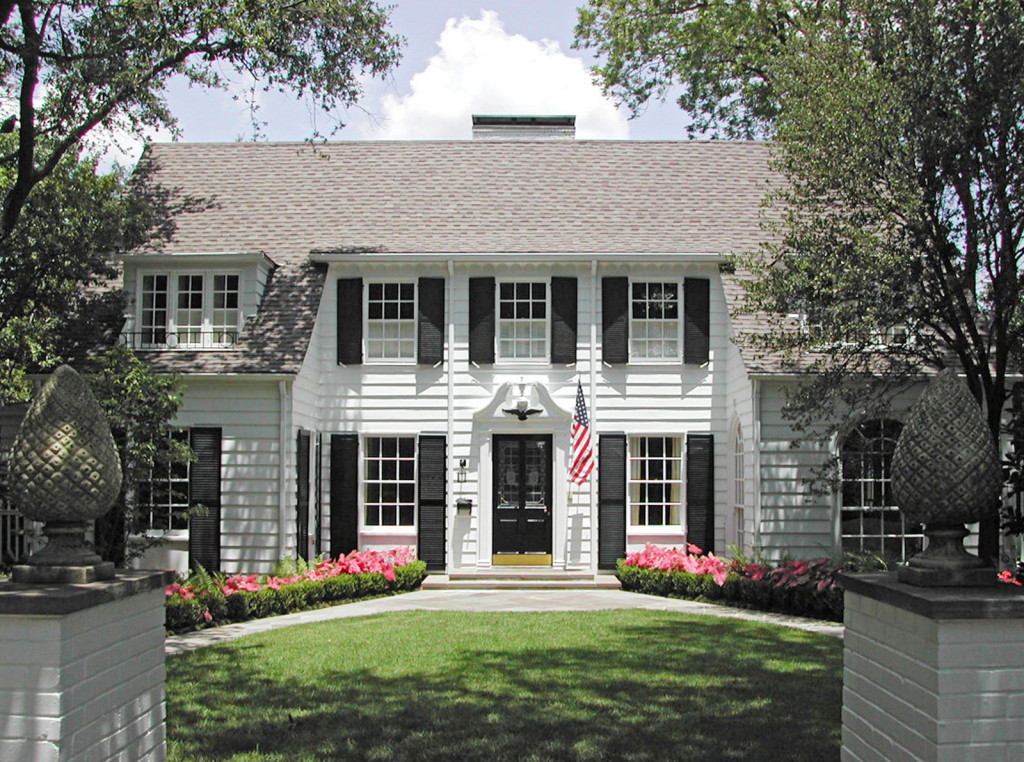 A Colonial Revival project from architect J. Wilson Fuqua