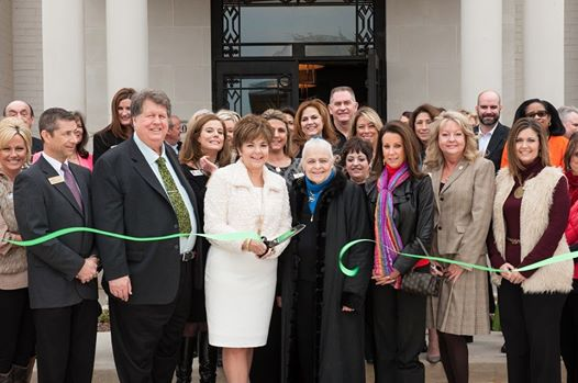 Ebby Southlake ribbon cutting