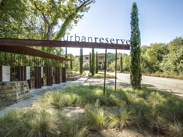 Urban Reserve is a neighborhood of modern, single-family homes, designed by a select group of regionally and nationally recognized architects. Urban Reserve is the brainchild of Diane Cheatham, who lives in the community with her husband.