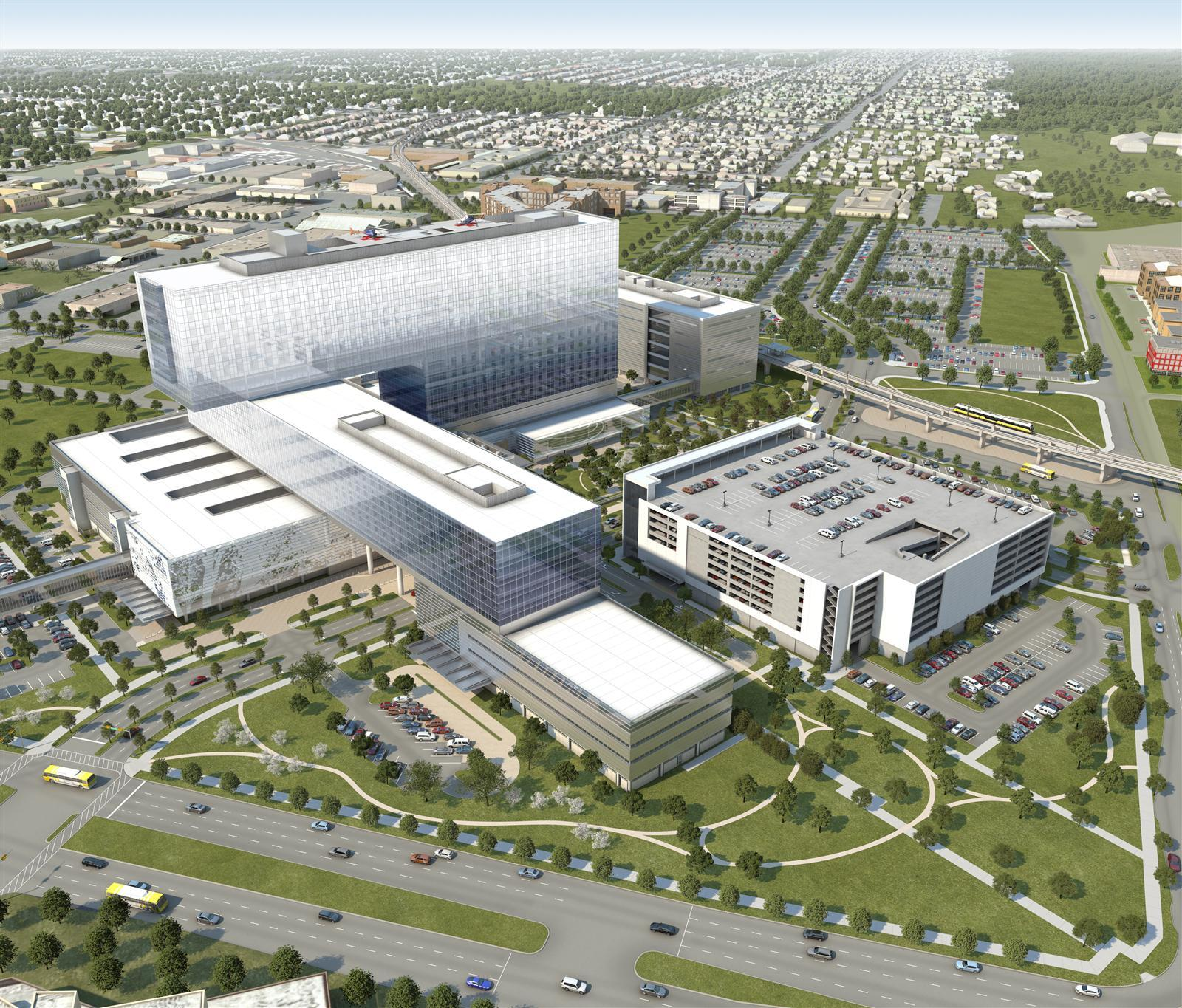 A First Peek Inside The New Parkland Hospital From