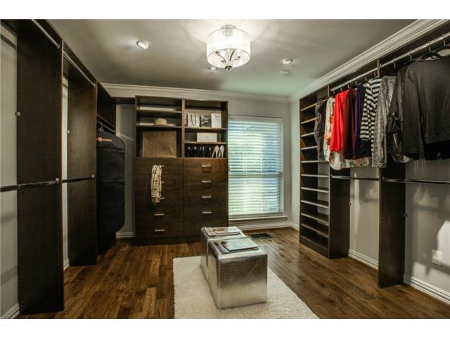 5705 Northaven Master Closet