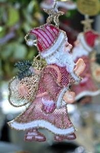BS Santa Ornament