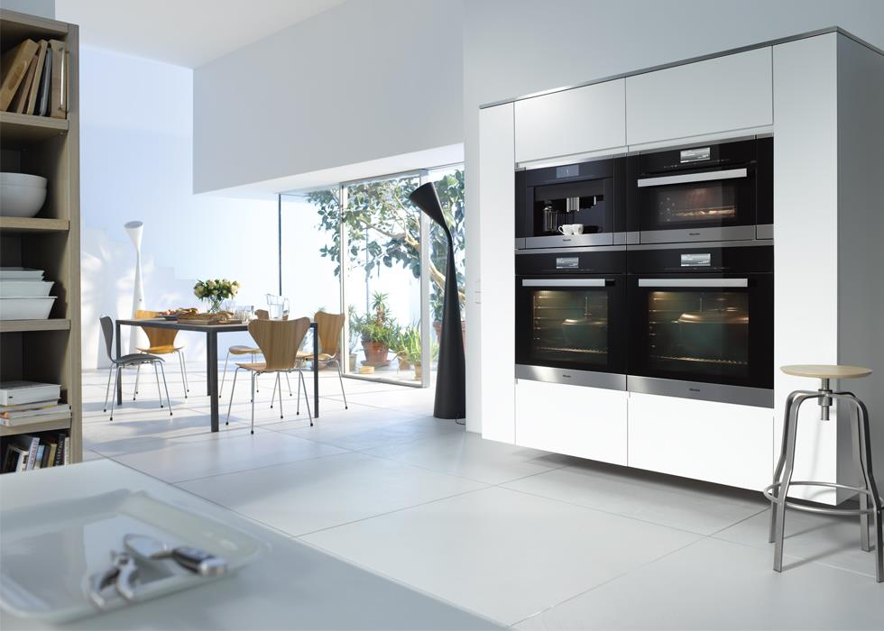 "Miele's Generation 6000 built-in appliances in their ""Pure Line"" finish. (Photo: Miele)"