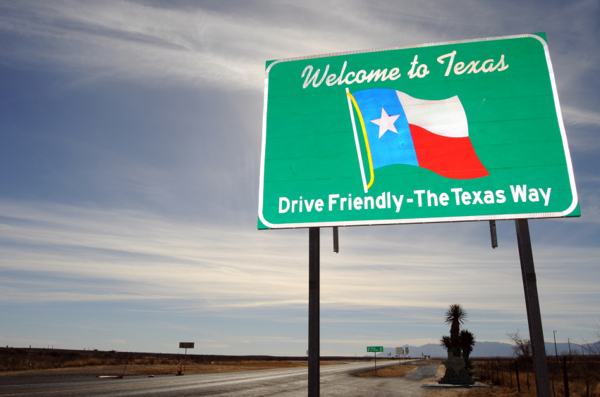 Welcome_to_Texas Sign