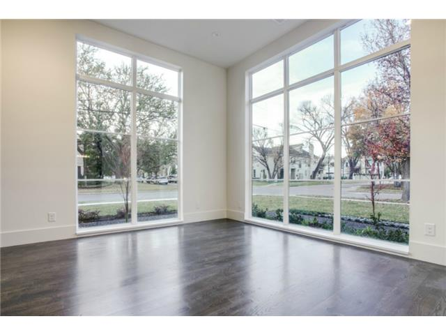 Formal living area or Study and handsome floor to ceiling window