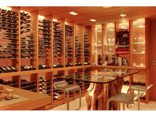 40 Braewood wine cellar