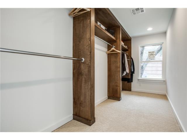 4239 Walnut Hill Master Closet