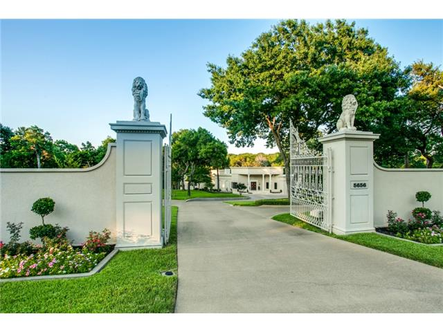 Welcome to the exquisite Dallas home at 5656 Cedar Ridge Dr.