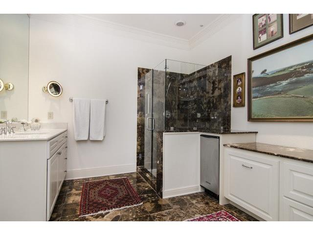 """His"" Master bath also has built-in ice machine and walk-in clos"