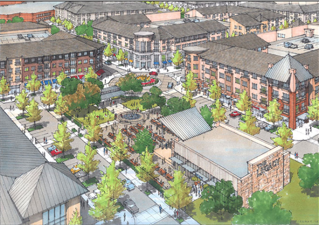 Artist rendering of Legacy West development. Photo: KDC