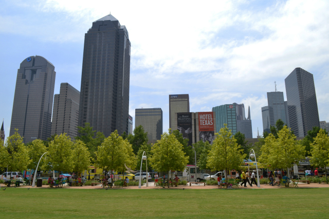 Photo courtesy Patrick McDonnell/Downtown Dallas Inc.