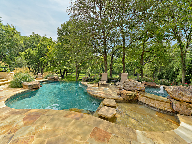 Private pools and spas are fantastic for small yards. Planning is key when it comes to integrating a pool into a landscape and hardscape, says Harold Leidner.
