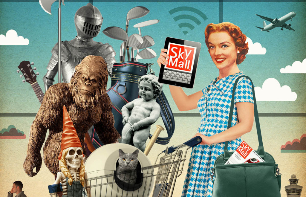 Skymall magazine turns 25 with plans to focus on online sales.
