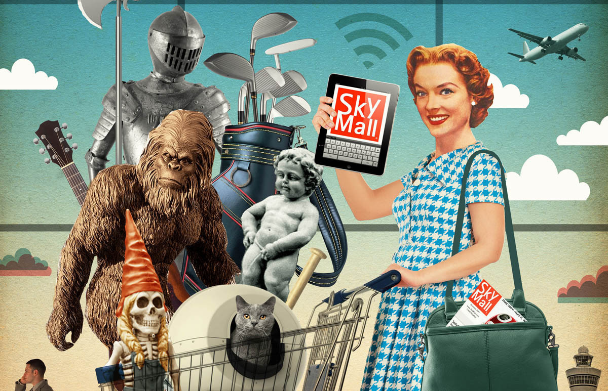 Our Homes Are Finally Safe Skymall Files For Bankruptcy