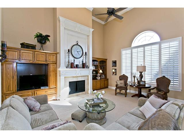 You'll love the extra large size of this family room with its so